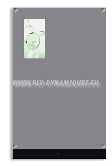 """affichage dynamique -principe de fonctionnement de l'affichage publicitaire """"miroir magique"""""""