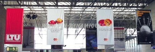kakémono publicitaire