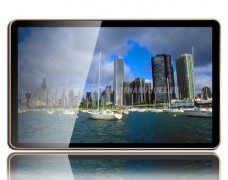 "Ecran Lcd 46 pouces gamme ""Vega"" : ""digital in store"" en Plv"