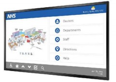 Ecrans tactiles infrarouges pour un usage interactif