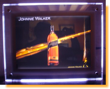 affichage publicite cadre-lumineux-crystal-leds