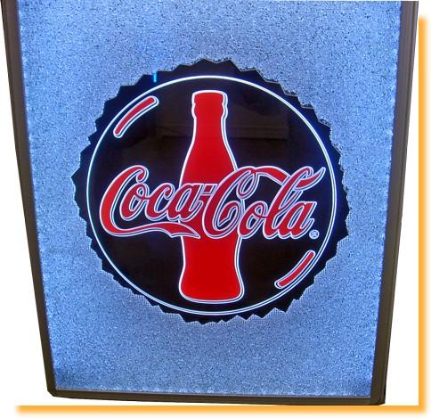 affichage lumineux avec un logo