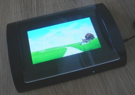 Vidéo player- écran lcd inclus dans un changeur de monnaie