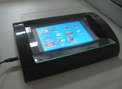 ecran LCD inclus dans changer de monnaie - vidéo player