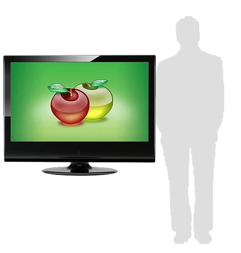affichage publicitaire - écran en situation