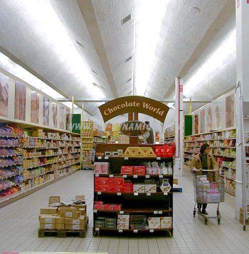 Aménagement de magasins