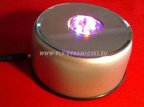 présentoir rotatif lumineux - base du présentoir