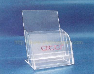 présentoir en acrylique porte-documents