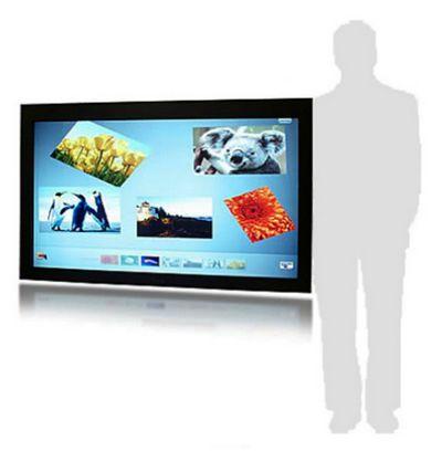 affichage publicitaire - écran tactile