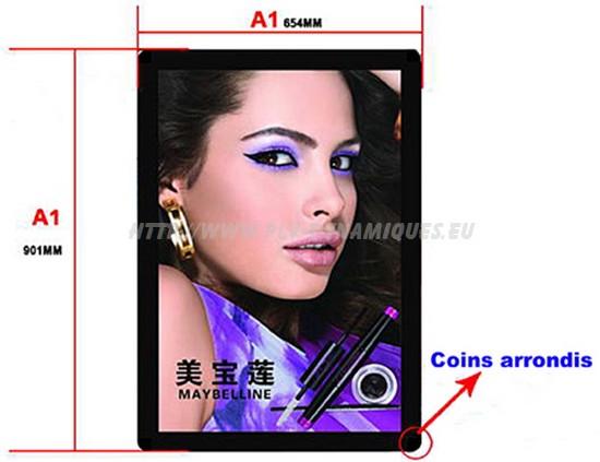 porte affiche - cadre publicitaire -1130YJ