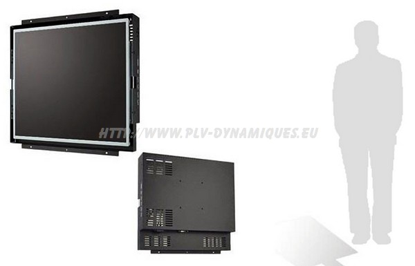 ecran lcd vega open frame affichage dynamique numérique - écran dynamique