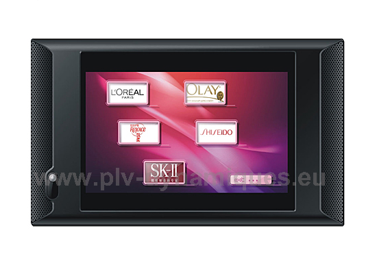 """Affichage numérique - gamme """"Displv"""" tactile - écran : AD1016WPT-1"""