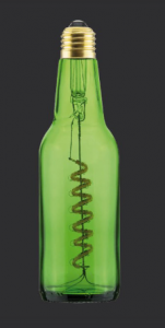 ampoule dans la bouteille