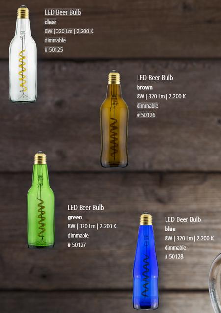 ampoule - différents modèles d'éclairage led