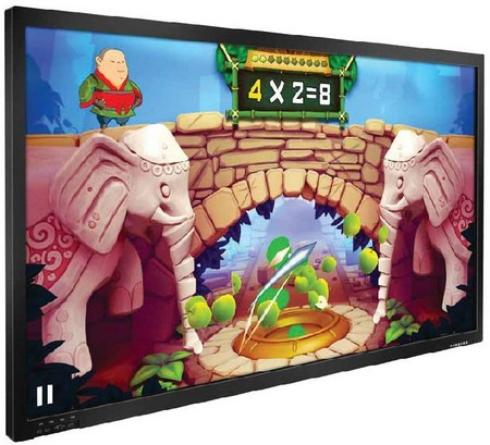 écran tactile interactif - la dalle d'affichage